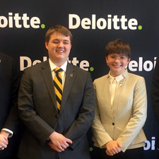 Gustavus Wins Deloitte Accounting Competition