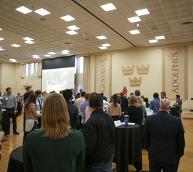 Career Reception Connects Students, Alums