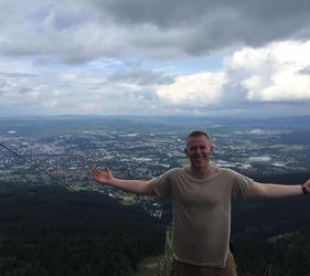 Dave Brazel '17: Cadet, Scholar, Athlete